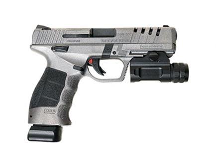 SAR USA SAR9X 9mm Pistol W/ Weapon Light | Platinum Cerakote
