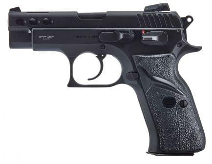 SAR USA P8S Compact 9mm Pistol, Blk - P8SBL