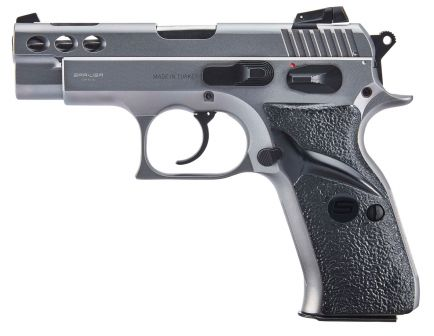 SAR USA P8S Compact 9mm Pistol, Stainless - P8SST