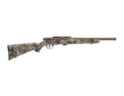 Savage Mark II FV-SR .22 LR Bolt Action Rifle, Kryptek Highlander