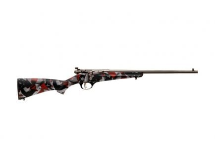 Savage Rascal .22 LR Single Shot Bolt Action Rifle | Red White and Blue