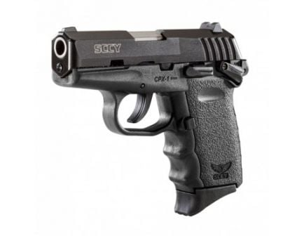 SCCY CPX-1 9mm Pistol w/ Safety, (1 Magazine) - CPX-1CB-S