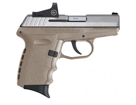 SCCY CPX-1RD 9mm Pistol, FDE - CPX-1TTDERD