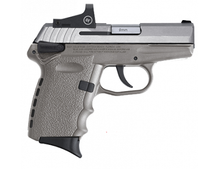 SCCY CPX-1RD 9mm Pistol, Gray - CPX-1TTSGRD