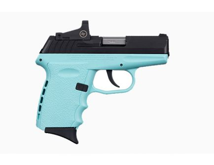 order your SCCY CPX-2RD 9mm Pistol Robin Egg Blue/Black - CPX-2CBSBRDE