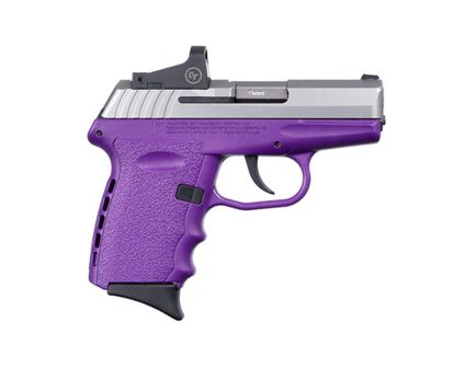 SCCY CPX-2RD 9mm Pistol, Purple