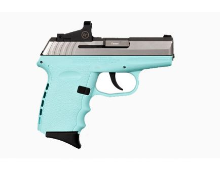 sccy cpx2 9mm pistol in robins blue egg 850013592340