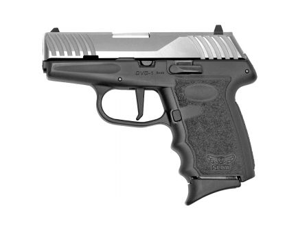 SCCY 9mm Pistol, Satin Stainless - DVG-1TTRD