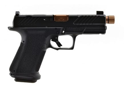 Shadow Systems MR920 Combat 9mm Threaded Barrel Pistol, Bronze