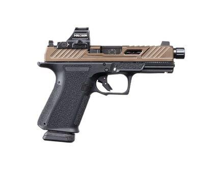 Shadow Systems MR920 Elite TB 9mm Pistol With Holosun Optic, Bronze Slide