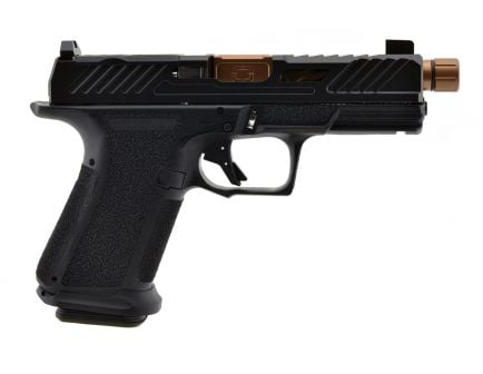 Shadow Systems MR920 Elite Threaded Barrel 9mm Pistol, Bronze Barrel