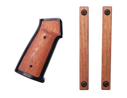 Sharps Bros Brazillian Cherrywood AR-15 Grip Set