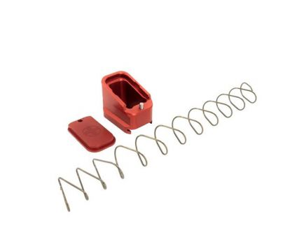 Shield Arms Glock 17/22 4/5 Round Magazine Extension, Red