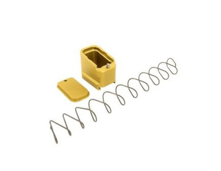 Shield Arms Glock 19/23 4/5 Round Magazine Extension, Gold