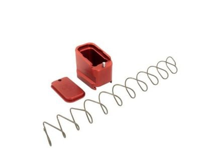 Shield Arms Glock 19/23 4/5 Round Magazine Extension, Red
