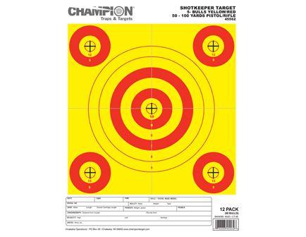 Champion SHOTKEEPER 5BULLS Y/R SMALL 45562