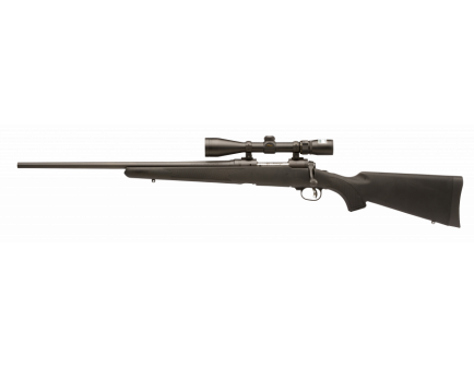 Savage 11/111 Trophy Hunter XP .270 Win. Left Handed Black Synthetic Stock w/ Nikon Scope 19704