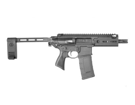 Sig Sauer MCX Rattler .300 AAC Blackout Pistol, Black - PMCX-300B-5B-TAP