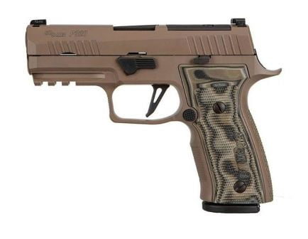 Sig P320 AXG Scorpion 9mm Pistol, Flat Dark Earth
