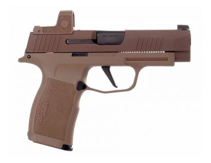 Sig P365 XL NRA 9mm Pistol With Romeo Zero, Coyote
