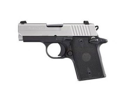 """Sig Sauer P938 9mm 3"""" Pistol, Two Tone - 938-9-T-NBS-AMBI"""
