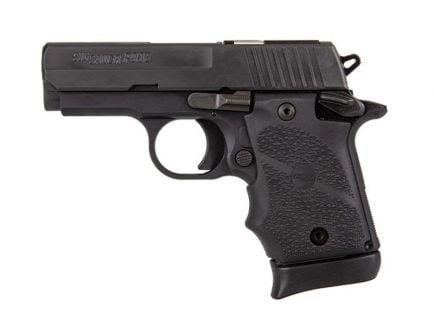 Sig P938 SAS 9mm Micro Compact Pistol, Black