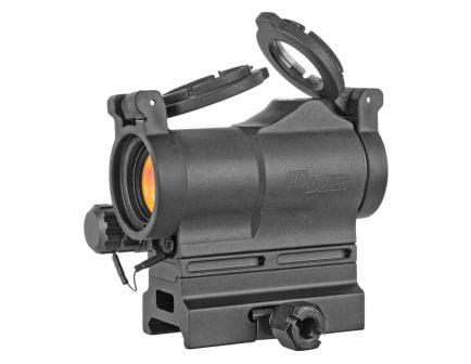 Sig ROMEO7s 1x22 2 MOA Red Dot Sight, Black