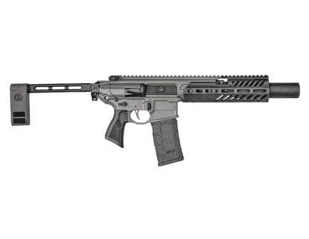 """Sig Sauer MCX Rattler 5.5"""" .300 Blackout Pistol With Folding Brace, Gray"""