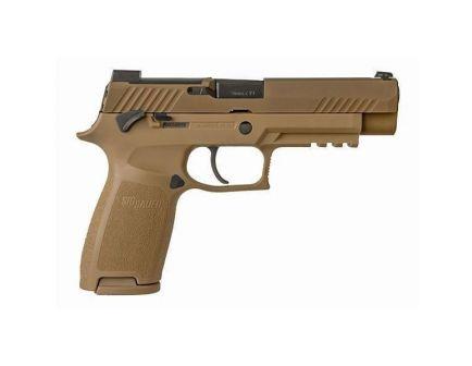 Sig Sauer P320 M17 9mm Pistol, Tan Coyote - MS - 320F-9-M17-MS-2M