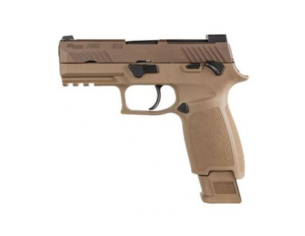 "Sig Sauer P320 M18 Carry 9mm 3.9"" Pistol, Coyote Tan - 320CA-9-M18-MS-2M"