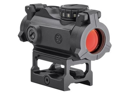 Sig Sauer Romeo MSR 2MOA Red Dot, Black - SOR72001