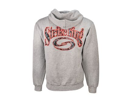 "Strike King ""S"" Logo Gray Oxford Hoodie - SKH2-M"