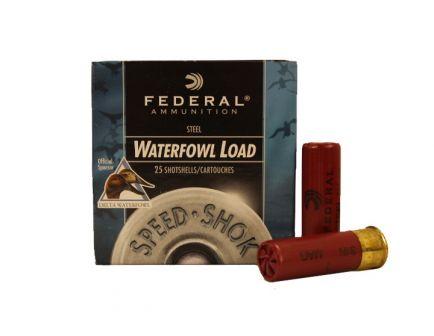 "Federal 12ga 3"" 1-1/8oz #1 Speed-Shok High Velocity Steel Shotshells - WF143 1"
