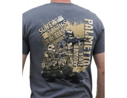 """Palmetto State Armory """"Tactics"""" T-Shirt Charcoal"""