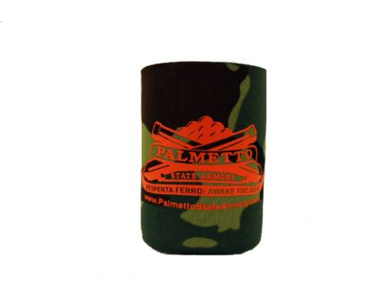PSA Koozie Camouflage with Orange Logo