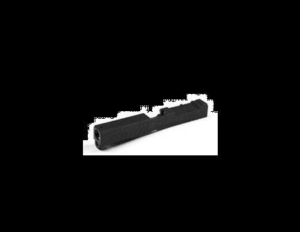 ZEV SOCOM Black G17 Absolute Cowitness Gen4 Stripped Slide - - SLD-Z17-4G-ESOC-RMR-CW.ABS-DLC