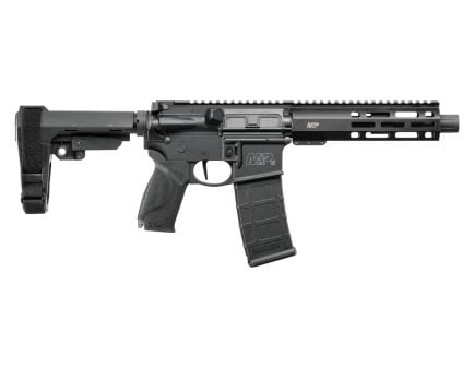"Smith & Wesson M&P 15 7.5"" Optics Ready 5.56x45 AR-15 Pistol, Black"