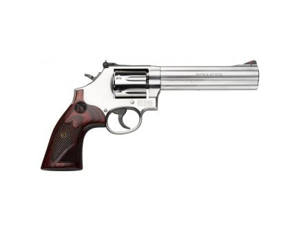 """Smith and Wesson 686 Deluxe .357 Magnum 6"""" Revolver - 150712"""