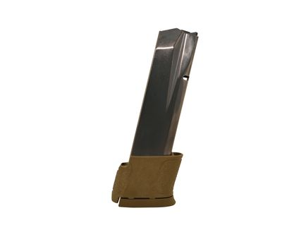 S&W Magazine: 45 Auto/ACP: M&P 14rd Capacity w/Brown Base plate - 19477