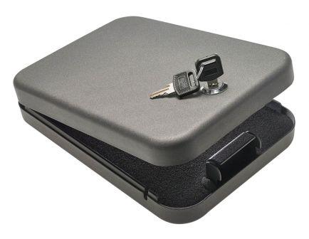 SnapSafe Keyed Lockbox Large |Grey