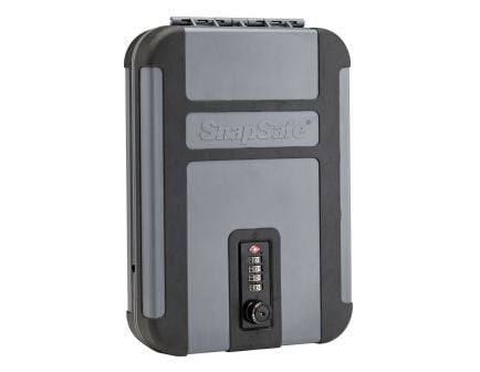 SnapSafe Trek Lite TSA Combination Lock Box, Grey