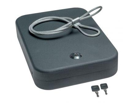 SnapSafe XL Keyed Lockbox, Grey