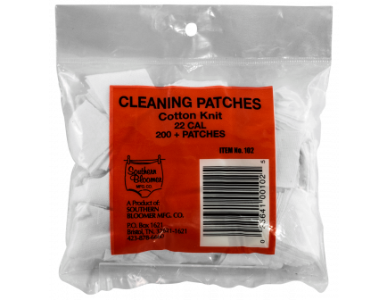 Southern Bloomer Cleaning Patches, .22, 200/pack - 102