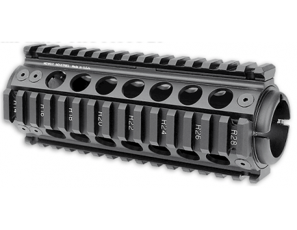 AR-15 Upper Parts Midwest Industries Gen 2 Sportical Carbine Length Two Piece Drop In Handguard