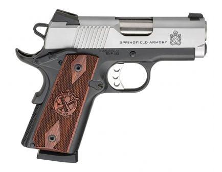 Springfield 1911 EMP CA Compliant 9mm Pistol, Stainless