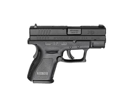 "Springfield XD Defenders Series 9mm 3"" Pistol, Black - XDD9801HC"