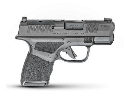 Springfield Hellcat OSP 9mm Pistol With Hex WASP Sight, Black
