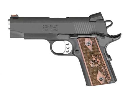 Springfield Range Officer Compact 9mm 1911 Pistol, Black