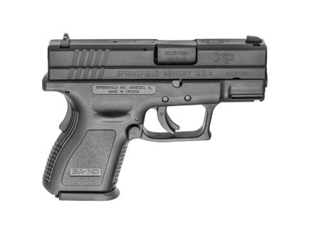 Springfield XD Subcompact 10 Round 9mm Pistol For Sale