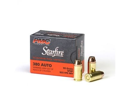 PMC Starfire 380 Auto/ACP 95gr SFHP Ammunition 20rds - 380SFA
